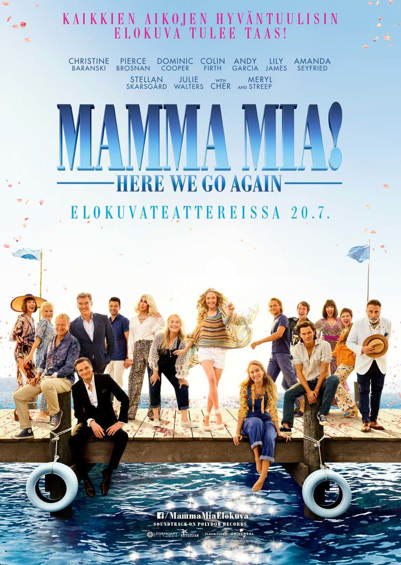 Hopeatähti: Mamma Mia! Here we go again